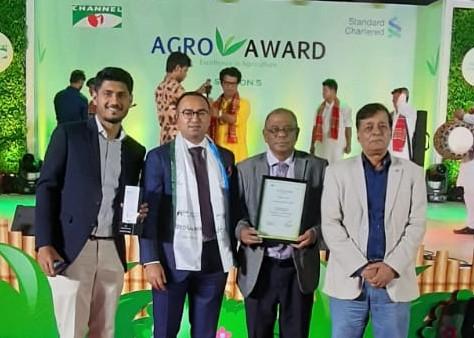 Best Agro Exporter on SCB & Channel-I Agro Award 2019